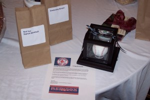Baseball signed by Craig Beslow of the Red Sox