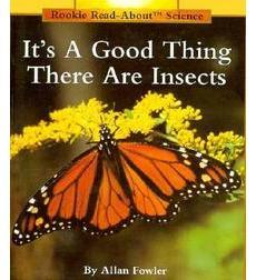 Its a good thing we are insects book cover