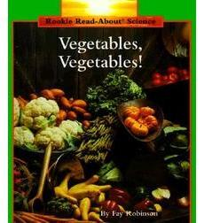Vegetables, Vegetable book cover