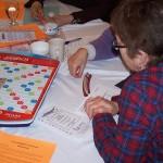 Scrabble player